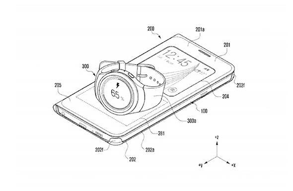 标局简讯:三星机套无线充电将获新实用新型专利