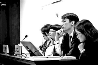 """""""金龟子""""商标诉讼案开庭 刘纯燕出席"""