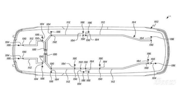 特斯拉公布新布線結構專利:Model Y車內線束預計僅有100米